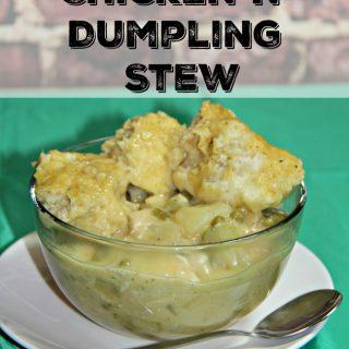 Irish Chicken n' Dumplings Stew