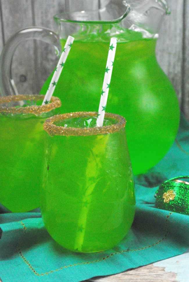 St. Patrick's Day punch for kids, nonalcoholic