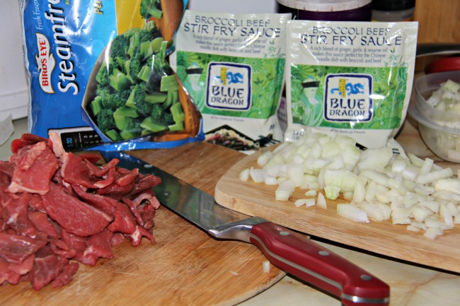 ingredients for beef and broccoli recipe