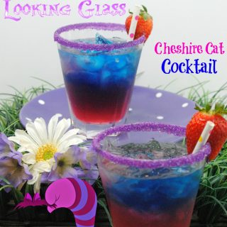Looking to have some fun with Disney's Alice Through the Looking Glass? Try my Cheshire Cat cocktail. Cheshire Cat Cocktail Will Leaving You grinning like a Cat