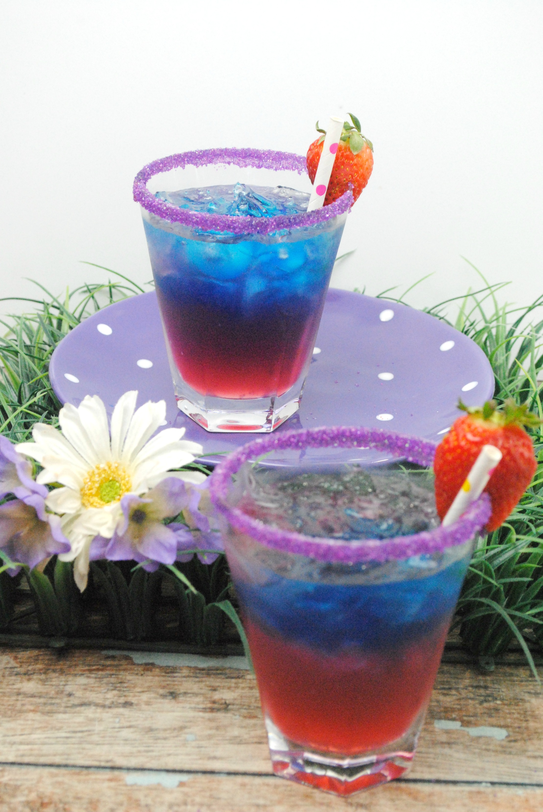 Alice in Wonderland cocktail