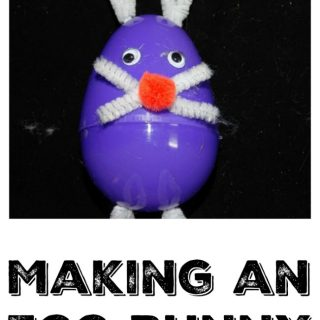 Simple Egg Bunny Craft