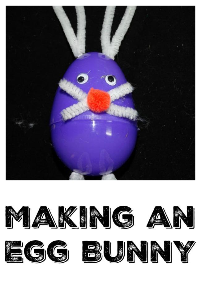 Makign an Egg Bunny