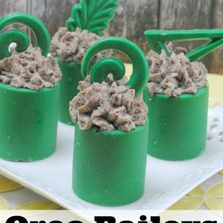 Baileys Oreo Mousse Recipe in Chocolate Cups
