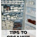 Tips to Organize You Freezer
