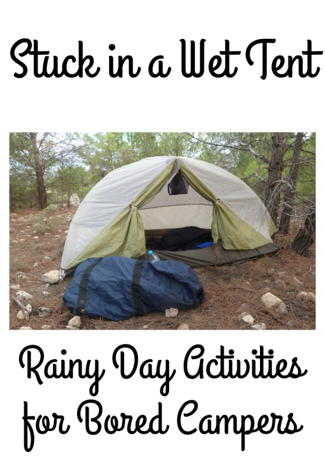 Rainy Day Activities for Bored Campers