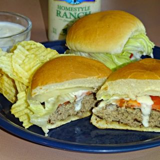 Ranch Burgers: Perfect for Picnics and Grilling