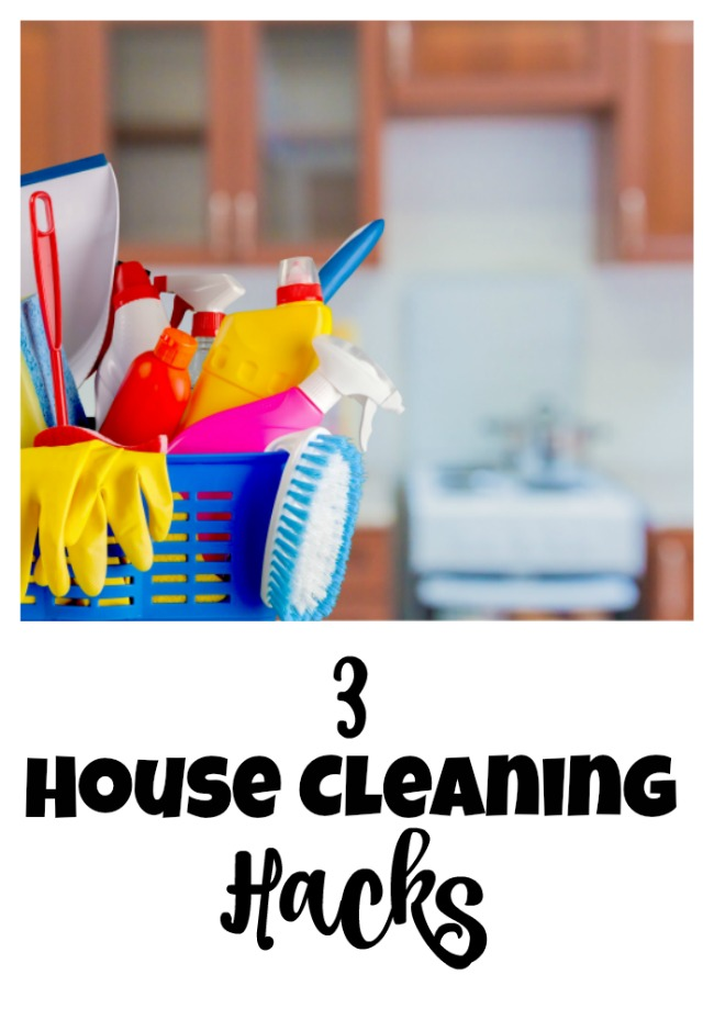 No one wants to clean. So try these 3 house cleaning hacks