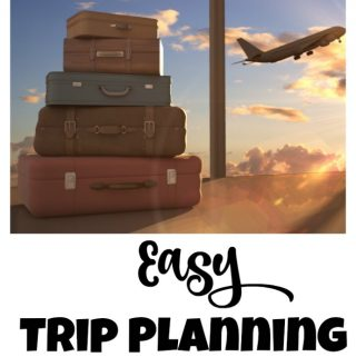 Want to plan a trip? Think it has to be a hassle? Use these easy trip planning tips to make it a snap.