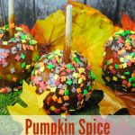 Pumpkin Spice Caramel Apple