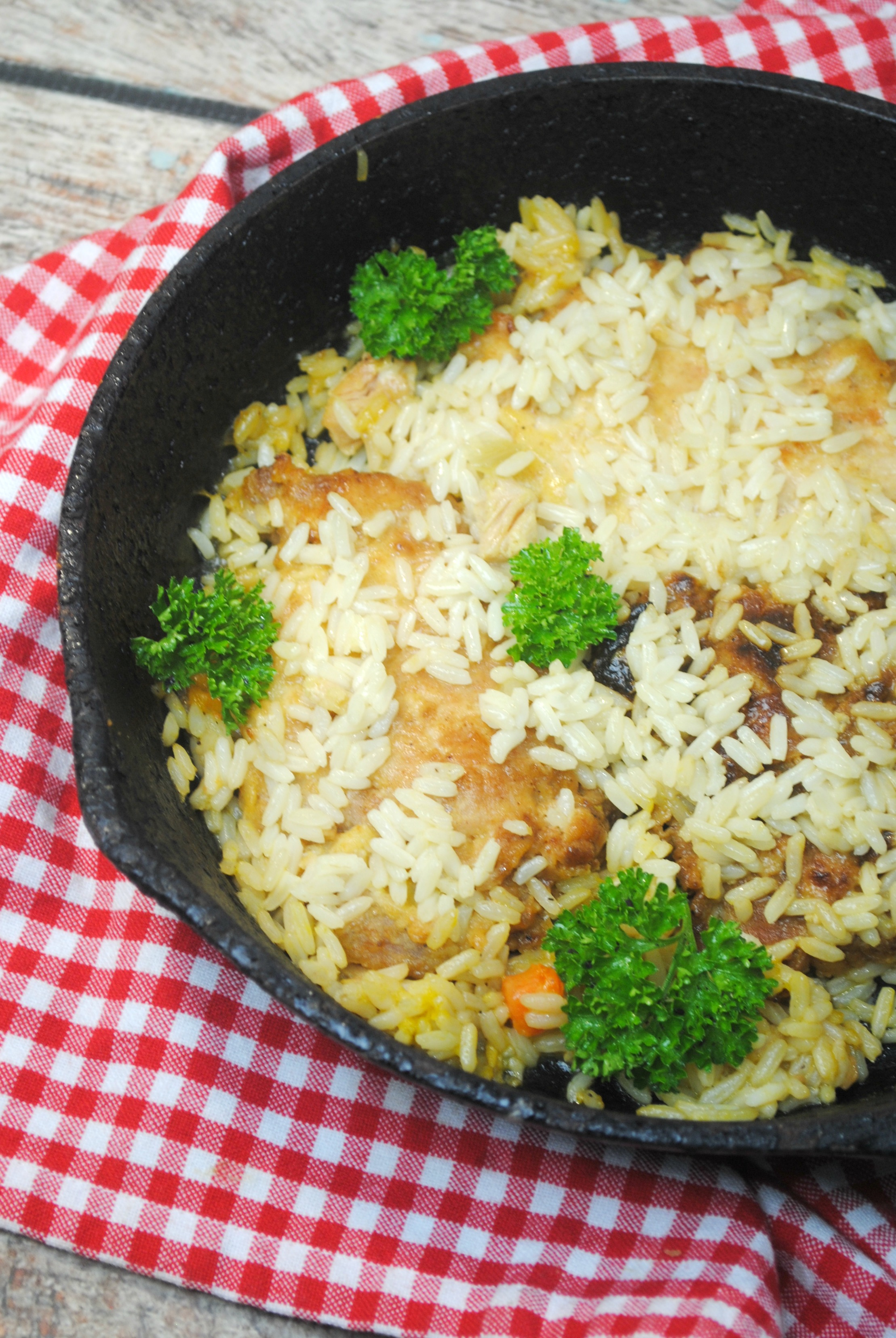 Cajun Pork Skillet Meal One-pot Meals that are perfect for dinner on a budget. Pork Skillet Meals make for easy clean ups.