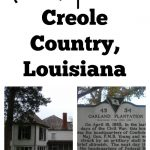 Road Trip Idea in Creole Country, Louisiana