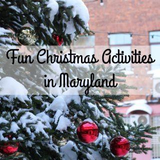 Fun Christmas Activities in Maryland