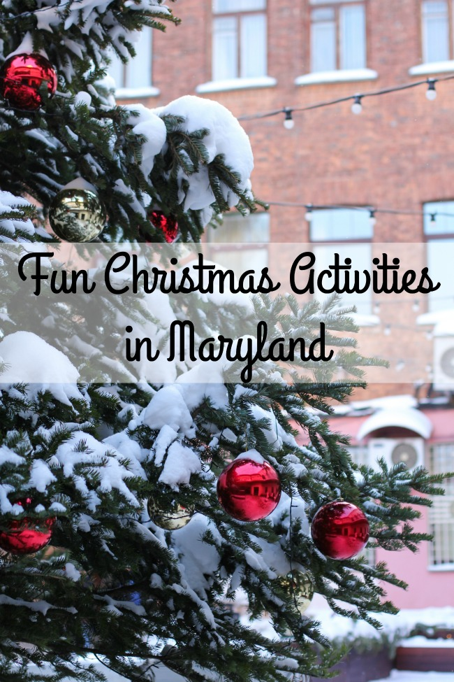 Fun Christmas Activities in Maryland