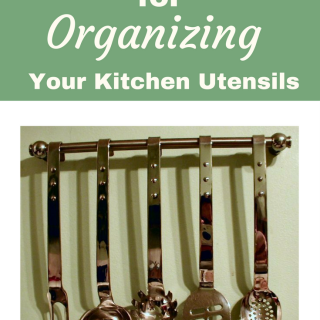 4 awesome ideas for organizing Kitchen Utensils