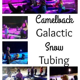 Camelback Galactic Snow Tubing