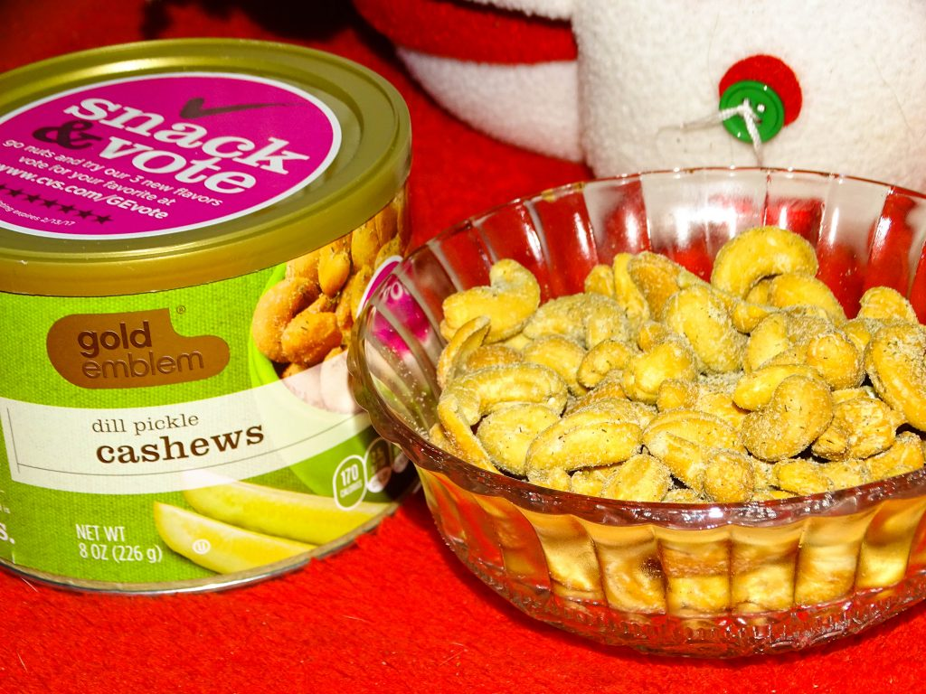 The holidays are nuts. It is time to go nuts with these nutty holiday snacks. Gold Emblem has 3 new flavors of cashews that make great holiday snacks.