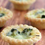 Broccoli and Cheddar Mini Quiches Recipe