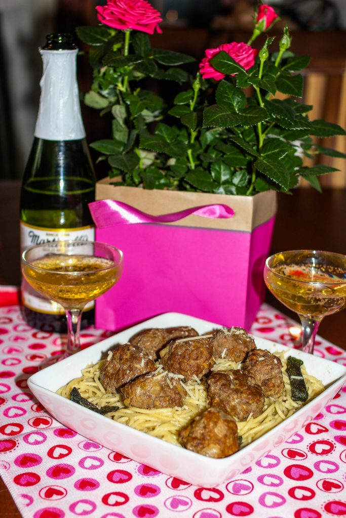 Angus Beef Meatballs with Lemon Butter Pasta is a great twist on classic meatballs and pasta.