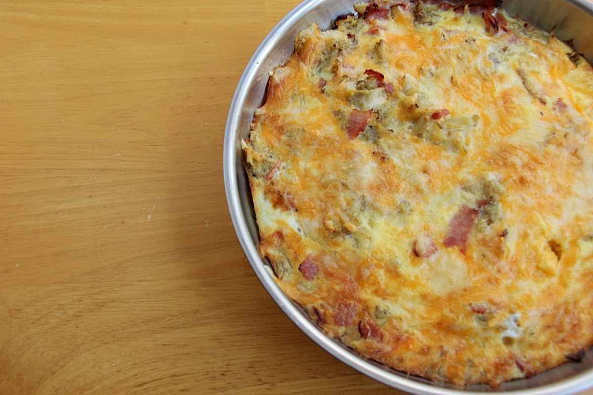 Breakfast for dinner is always a winner. Here is an easy Skillet Frittata recipe that is a great budget meal that tastes great.