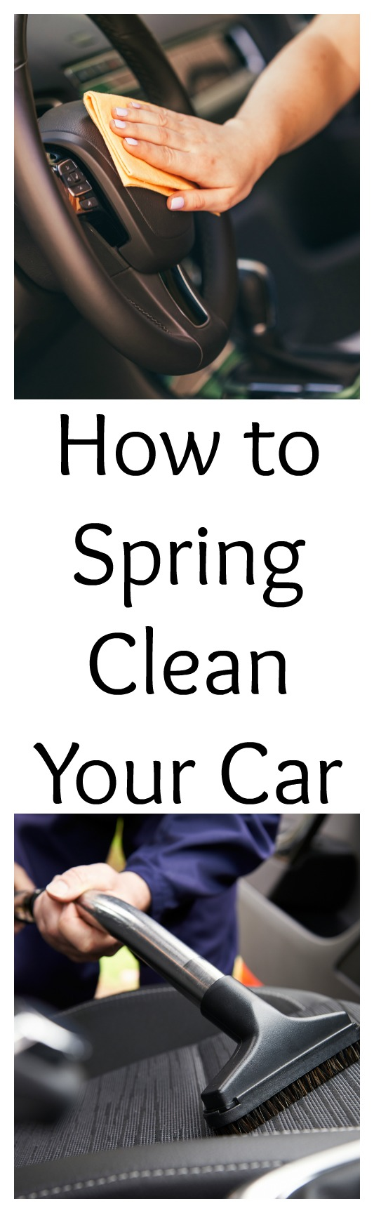 Are you ready for Spring Cleaning? It's not just your house you should spring clean, it is also time to clean your car. See how you should clean your car