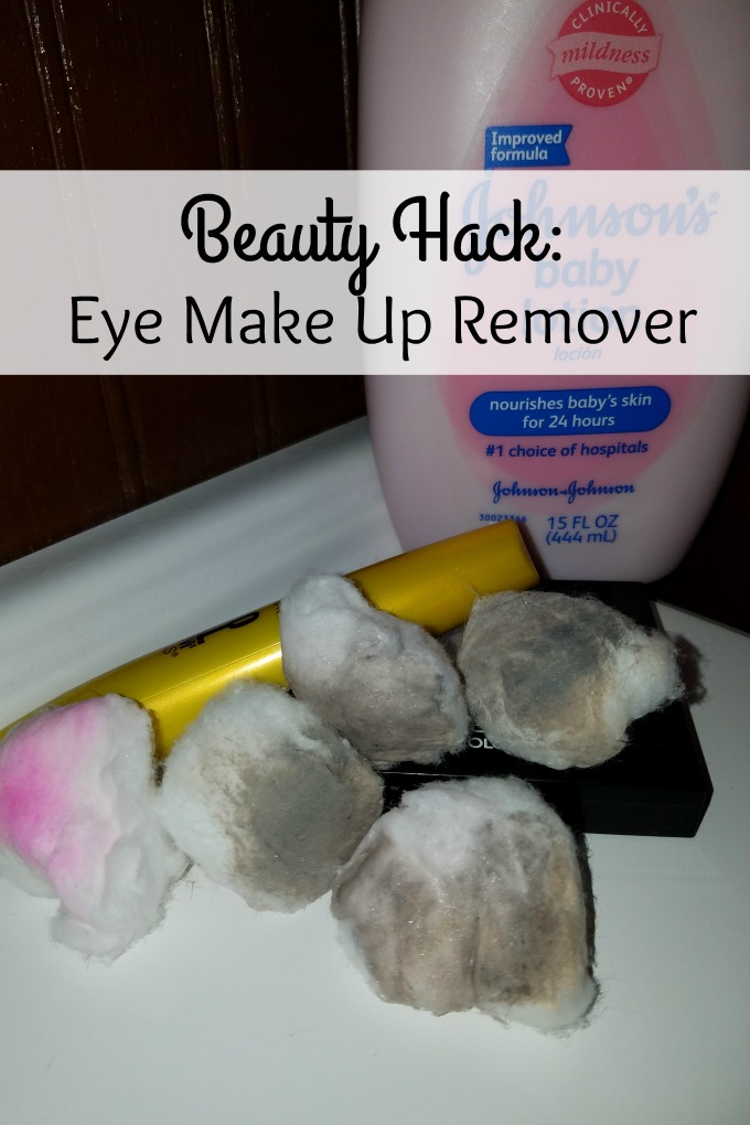 Looking for a beauty hack? This is a simple beauty hack that will help you remove eye makeup with no racoon eyes and leave your skin baby soft.