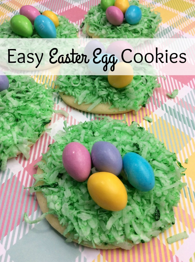 Easter Egg cookies that are simple to make but everyone will think came from the bakery. Easy Easter Cookies that the kids will love.