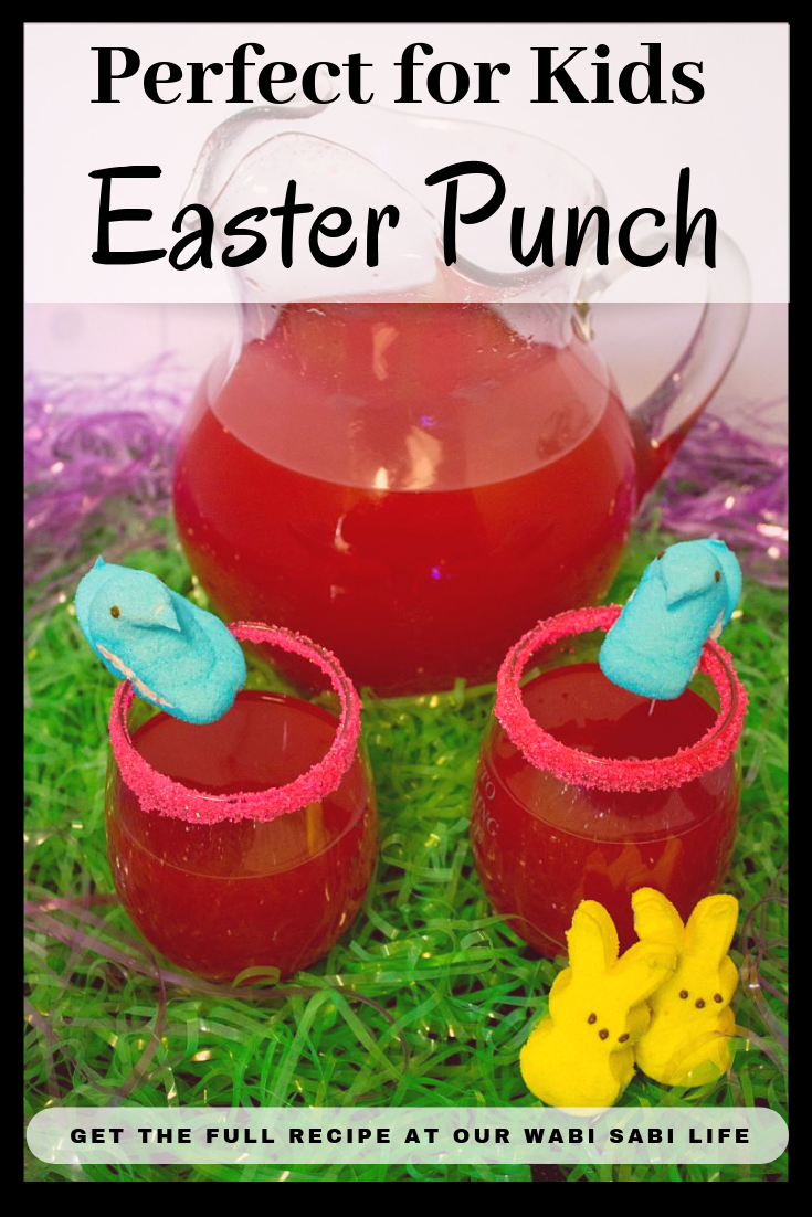 Looking for an Easter punch recipe that everyone will love? This Easter Punch nonalcoholic is perfect for kids or anyone who is looking for Easter alcoholic punch recipes.