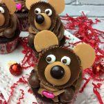 teddy bear cupcake