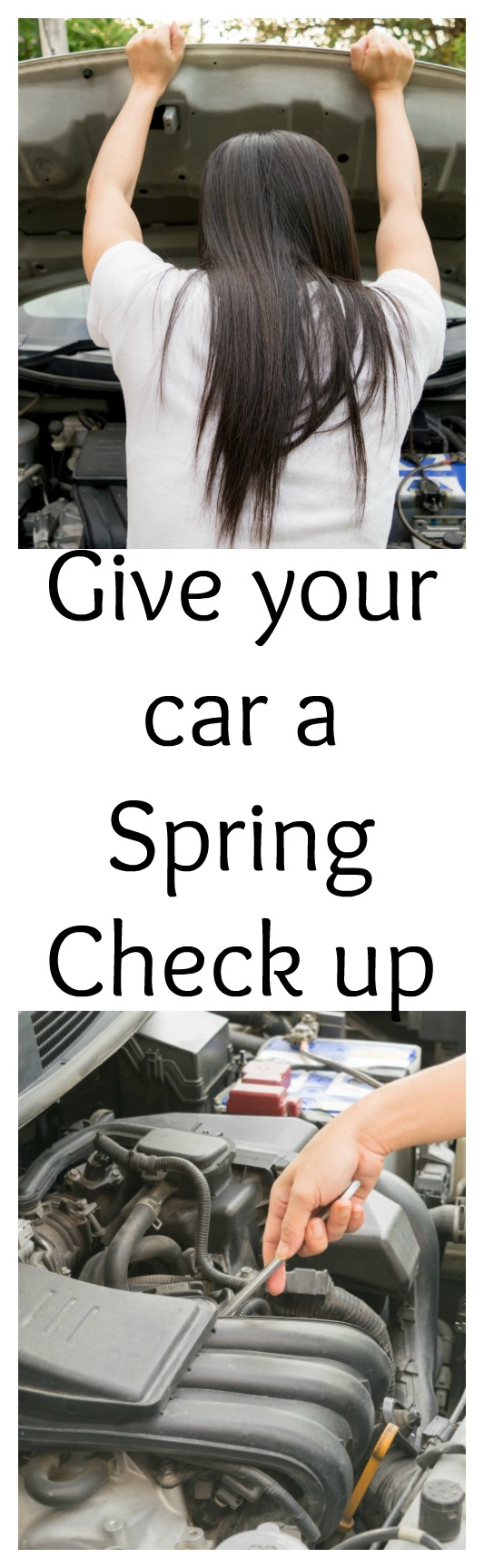 The snow has melted and the flowers are coming out. It is time to give your car a Spring check up, so that you are not stranded on the side of the road.