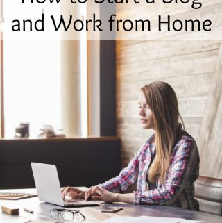 Are you wondering how to start a blog and work from home? Think it is complicated? It's not. Use this step by step guide to start a blog.