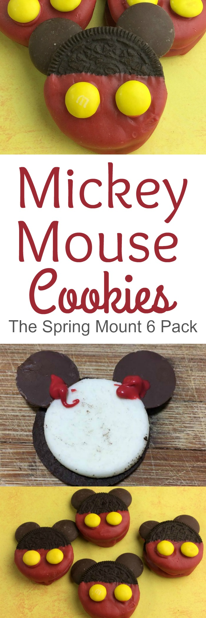 Have a Mickey Mouse fan at home Maybe you are having a Disney themed party I have the perfect Mickey Mouse cookies that are simple to make