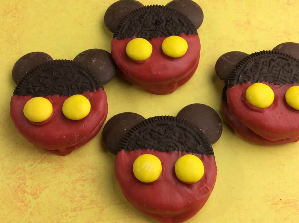 Have a Mickey Mouse fan at home Maybe you are having a Disney themed party I have the perfect Mickey Mouse cookies that are simple to make.
