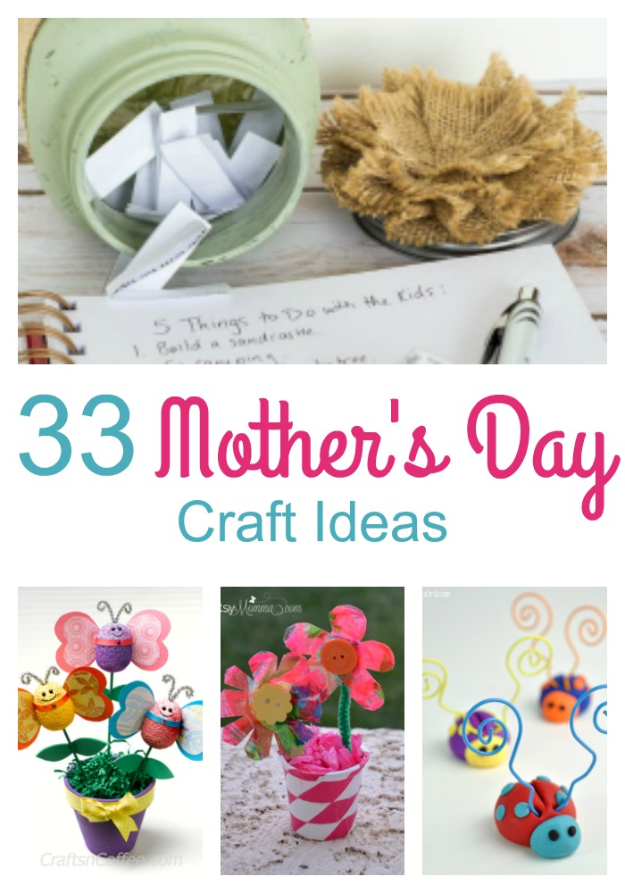 Looking Mother's Day crafts? These Mother's Day crafts will be something simple to make that Mom will love. Always make sure Mom knows you love her.
