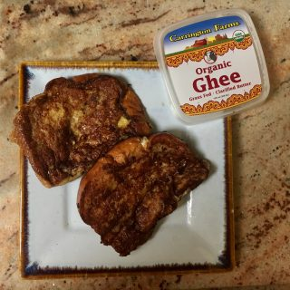 Ghee French Toast: Breakfast in Bed for Mom