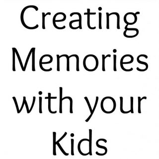 Think memories can only be created during something special. See how much fun we had, doing something so simple, and we created memories.