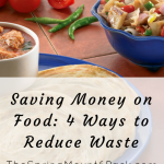 Saving Money on Food: 4 Ways to Reduce Waste