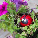 Lady Bug Golf Ball Garden Decoration