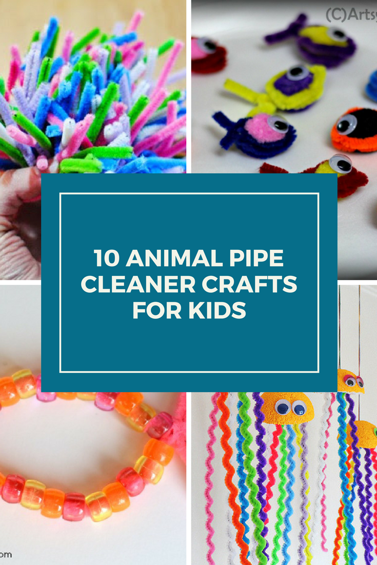 Kids love crafts. I love crafts that don't cost me a lot. These pipe cleaner crafts are a simple craft idea that you can do with the kids.