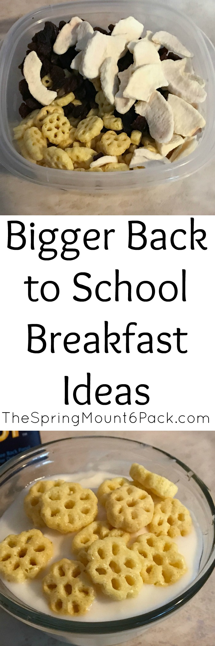Need back to school breakfast ideas? I have some bigger breakfast ideas that are perfect for busy mornings or afterschool snacks.