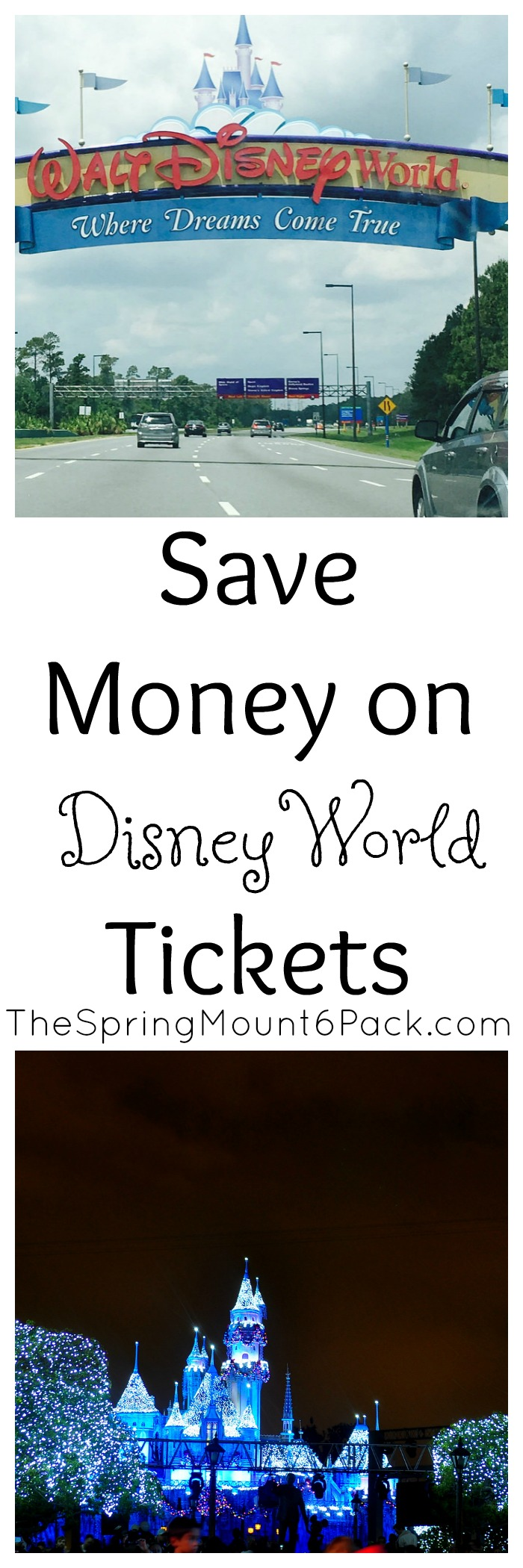 Planning a trip to Disney? Try these tips to save money on Disneyworld tickets. These tips work to save money on Disneyland tickets too.