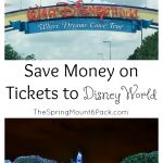 Save Money on Disney World Tickets