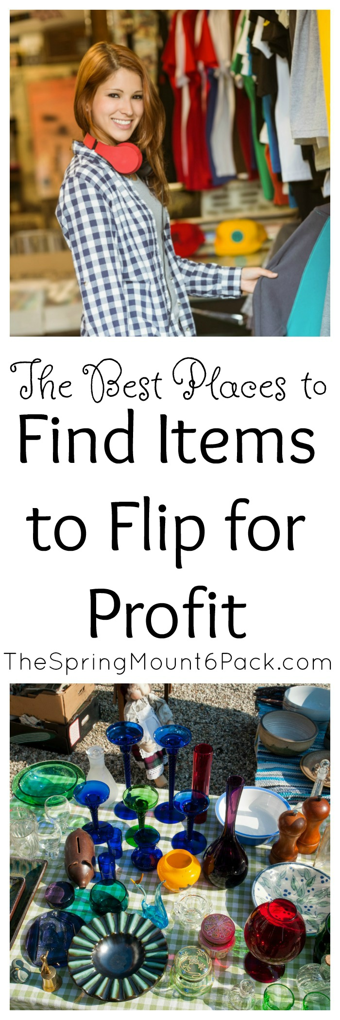 Some people call it flipping, some people call it thrifting for profit, either way, you will need to find items to flip if you want to make money.