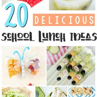 Struggling with easy lunch ideas? Here are 20 Easy Lunch Ideas that are perfect for back to school or everyday. Kids will love these lunches.