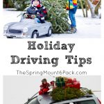 Holiday Driving Tips, What You Should Remember