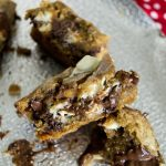 Nutella Chocolate Chip Sugar Cookie Bars