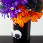 Googly Eye Vase for Halloween