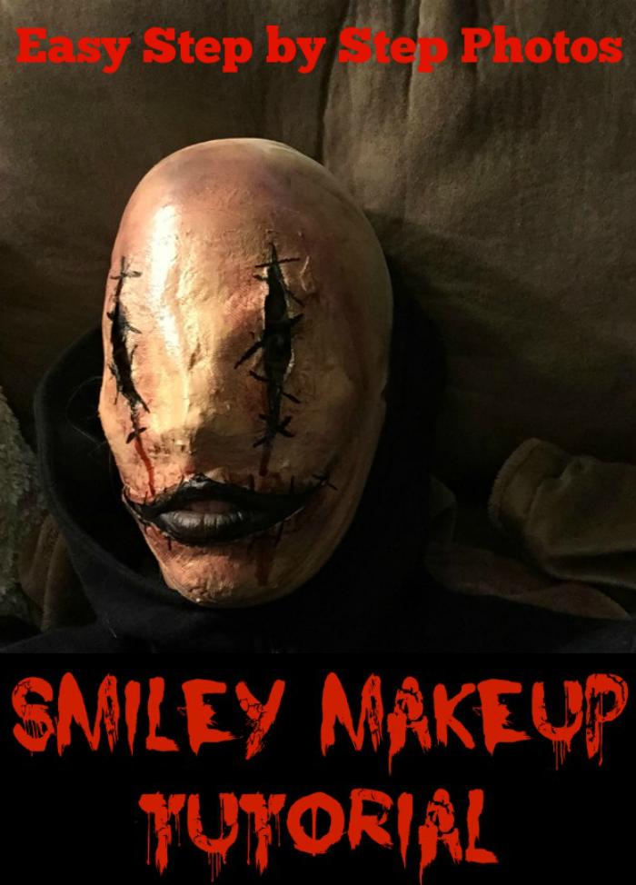 Smiley Face Halloween Makeup Tutorial
