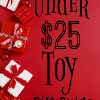 Looking for toys under $25 kids will love? Here are great gift ideas for toys that are under $25. Christmas shopping on a budget is easier with a gift guide