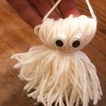 Pompom Ghost| Halloween Ghost Craft